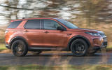 Land Rover Discovery Sport 2020 road test review - hero side