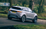 2 Land Rover Range Rover Evoque 2021 road test review hero rear