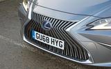 Lexus ES 2019 road test review - front end