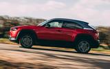 2 Mazda MX 30 2021 road test review hero side
