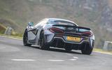 McLaren 600LT 2018 review - hero rear