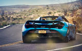 McLaren 720S Spider 2019 road test review - hero rear
