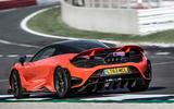 McLaren 765LT 2020 road test review - hero rear