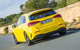 Mercedes-AMG A35 2018 review - hero rear