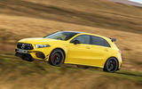 Mercedes-AMG A45 S 4Matic+ 2020 road test review - hero side