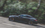 Mercedes-AMG C63 Coupé 2019 road test review - hero side