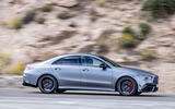 Mercedes-AMG CLA 45 S 2019 road test review - hero side