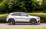 Mercedes-AMG GLA 45 S Plus 2020 road test review - hero side