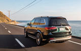 Mercedes-AMG GLS 63 2020 road test review - hero rear