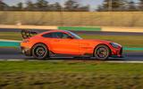 Mercedes-AMG GT Black Series road test review - hero side