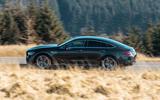 Mercedes-AMG GT four-door Coupé 2019 road test review - hero side