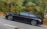 Mercedes-Benz C-Class Coupe 2019 review - hero side