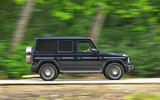 Mercedes-Benz G-Class 2019 road test review - hero side