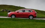 MG 5 SW EV 2020 Road test review - hero side