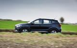 MG ZS EV 2019 road test review - hero side