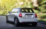 Mini Electric 2020 road test review - hero rear