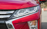 Mitsibushi Eclipse Cross 2018 review headlights