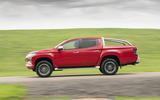 Mitsubishi L200 2019 road test review - hero side