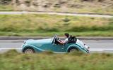 Morgan Plus Four 2020 road test review - hero side