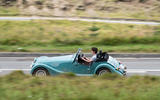 Morgan Plus Four 2020 road test review - hero side
