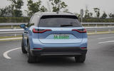Nio ES8 road test review - hero rear