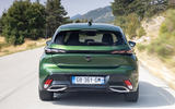 2 Peugeot 308 2021 first drive review hero rear