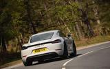 Porsche 718 Cayman GTS 2018 review hero rear
