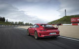 Porsche 911 GT3 RS 2018 review hero rear