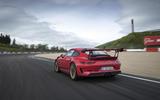 Porsche 911 GT3 RS 2018 review hero rear