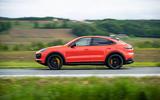 Porsche Cayenne Coupé 2019 review - hero side