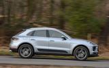 Porsche Macan 2019 road test review - hero side