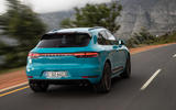 Porsche Macan Turbo 2019 road test review - hero rear