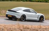 Porsche Taycan 2020 road test review - hero side