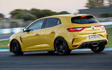 Renault Megane RS 280 2018 road test review hero rear