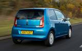 Skoda Citigo 2017 first drive review hero rear