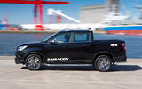 Ssangyong Musso Saracen 4x4 2018 road test review hero side