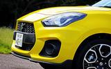 Suzuji Swift Sport Japan-spec review front end