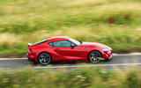 Toyota GR Supra 2019 road test review - hero side