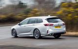 Vauxhall Insignia Sports Tourer GSI review hero rear