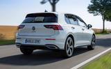 Volkswagen Golf GTE 2020 road test review - hero rear
