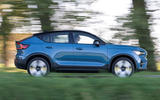 2 Volvo C40 Recharge 2021 first drive review hero side