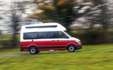 Volkswagen Grand California 2020 road test review - hero side