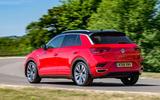 Volkswagen T-Roc 2019 road test review - hero rear
