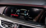 Alfa Romeo Stelvio Quadrifoglio 2019 road test review - infotainment