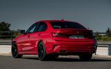 Alpina B3 2020 road test review - static rear