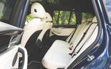 Alpina XD3 2019 UK road test review - rear seats