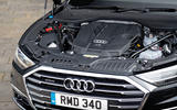 Audi A8 60 TFSIe 2020 road test review - engine
