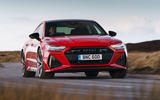 Audi RS7 Sportback 2020 road test review - on the road front