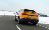 20 audi sq5 2021 first drive review on road rear