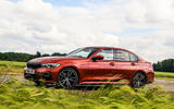 BMW 3 Series 330e 2020 road test review - static